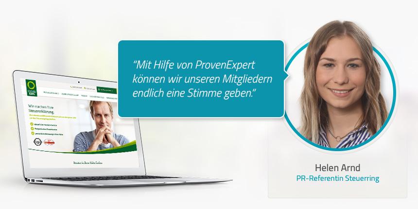 Welche Erfahrungen haben Sie seit der Nutzung von ProvenExpert gemacht?