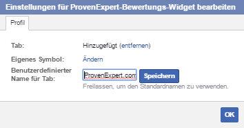 NEU: Das ProvenExpert-Bewertungs-Widget für Facebook