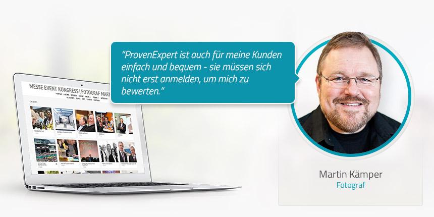 Kundeninterview mit Martin Kämper