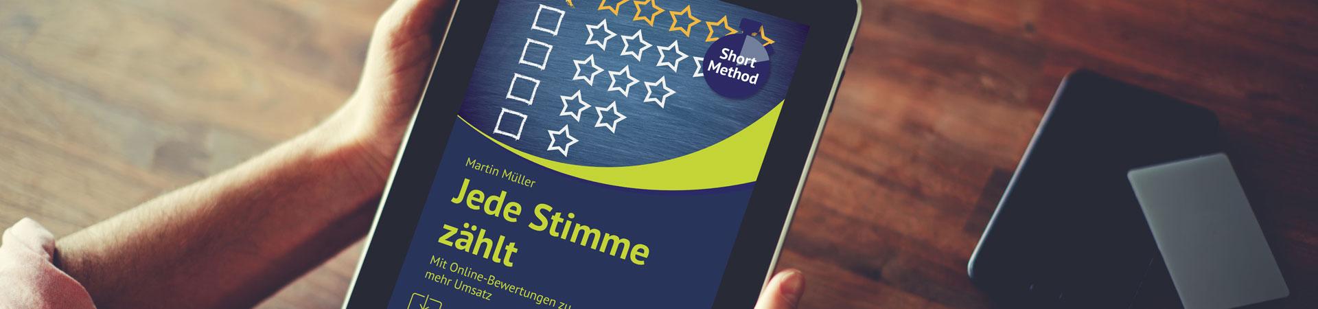 "E-Book-Review: ""Jede Stimme zählt"" von Networking-Profi Martin Müller"