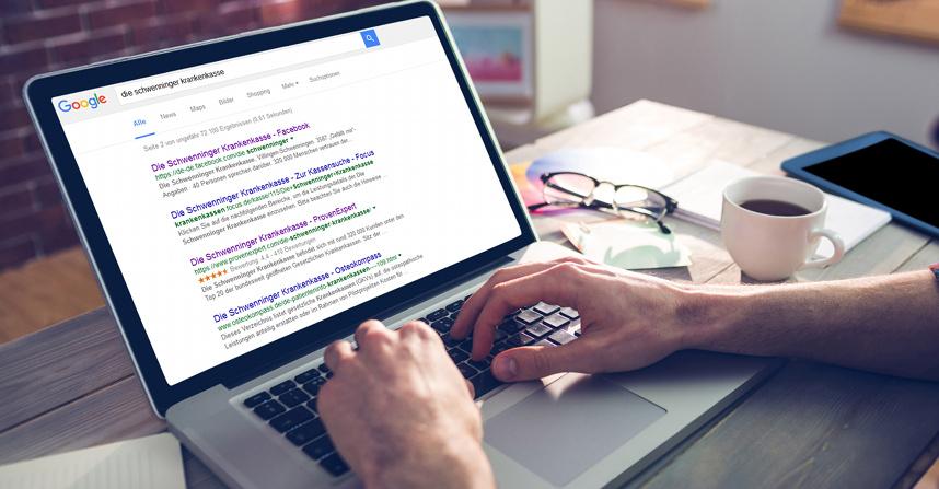 Sorgen für mehr Aufmerksamkeit und Klicks: Die Bewertungssterne in den Google-Suchergebnissen.