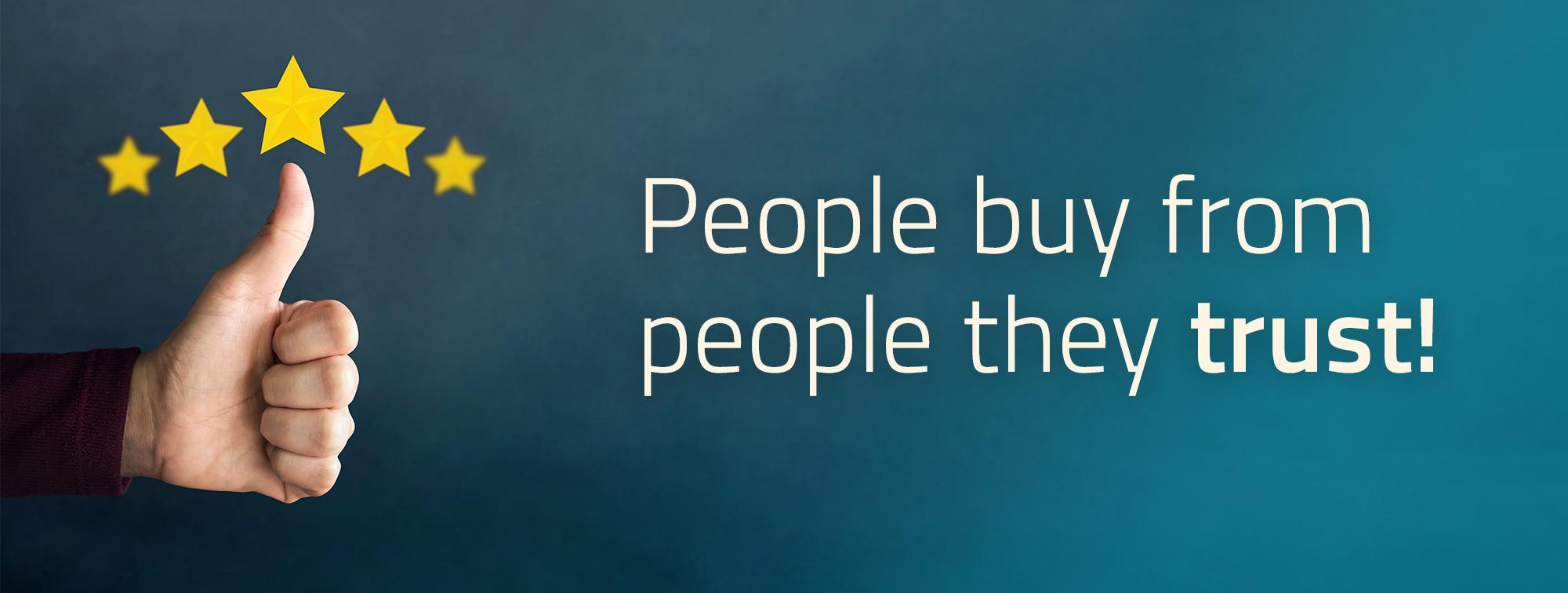 5 Strategien, um das Vertrauen von Kunden zu gewinnen