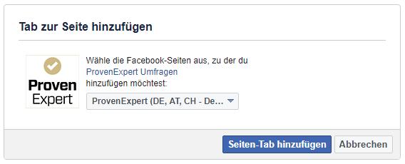 Geschafft! Ihre Facebook-Kundenumfrage ist fertig eingerichtet und steht Ihren Kunden nun zur Verfügung. Gehen Sie zu Ihrer Facebook-Seite, um individuelle Einstellungen vorzunehmen.