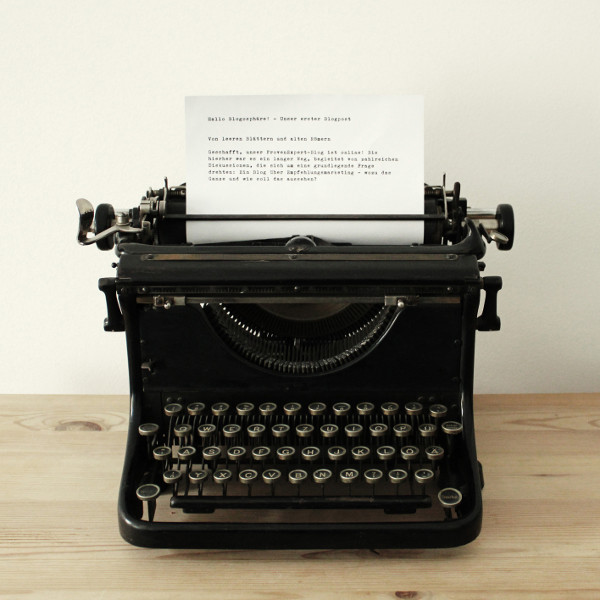 ProvenExpert Unser erster Blogpost